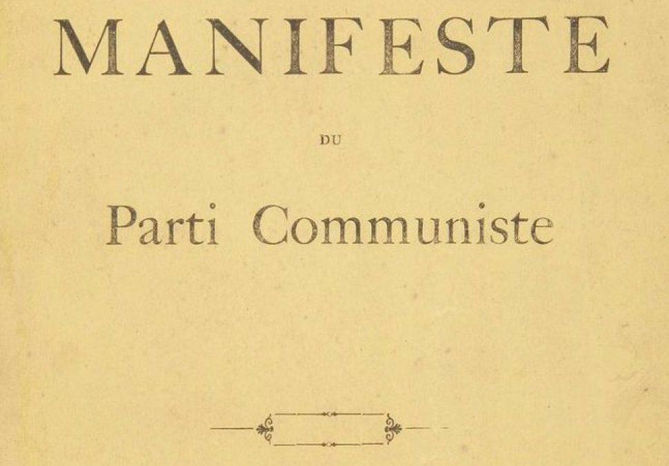 Karl Marx et Friedrich Engels – Le manifeste du parti communiste